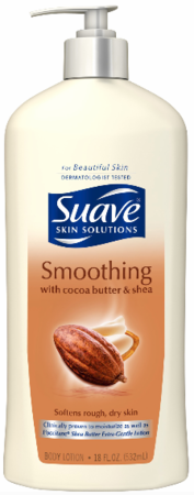 Suave Smoothing Cocoa Butter & Shea Skin Lotion 18 oz 2019