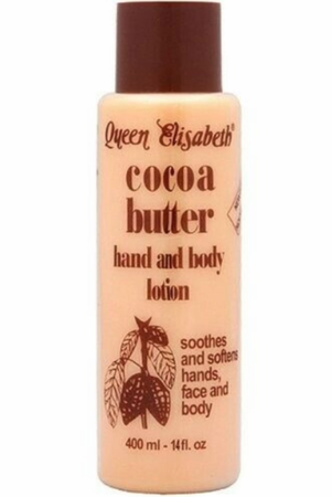 Queen Elizabeth Cocoa Butter Hand and Body Lotion 14 oz / 400 ml