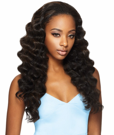 Outre Quick Weave Ashani Half Wig Synthetic