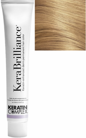 Keratin Complex KeraBrilliance Keratin-Enhanced Demi-Permanent Hair Color 9.0/9N Lightest Neutral Blonde 3.4 oz 2019