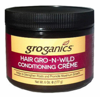 Groganics Hair Gro-N-Wild Conditioning Creme 6 oz 2019