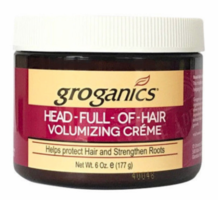 Groganics Head-Full-Of-Hair Volumizing Creme 6 oz
