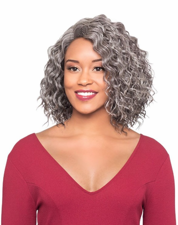 Foxy Silver Nellie Wig Synthetic