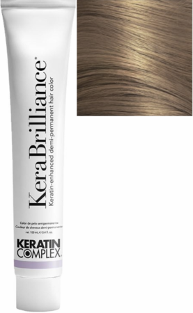 Keratin Complex KeraBrilliance Keratin-Enhanced Demi-Permanent Hair Color 9.23/9VG Lightest Violet Golden Blonde 3.4 oz 2019