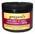 Groganics Hair Gro-N-Wild Conditioning Creme 6 oz