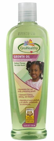 GroHealthy Growth Oil With Olive & Soybean Oils 8.8oz