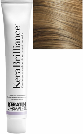 Keratin Complex KeraBrilliance Keratin-Enhanced Demi-Permanent Hair Color 8.0/8N Light Neutral Blonde 3.4 oz 2019