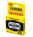 Feather Hi Stainless Double Edge 20 Blades