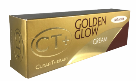 CT+ Clear Therapy Golden Glow Fast Action Cream 1 oz