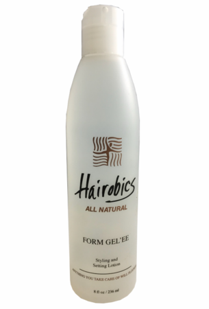 Hairobics All Natural Form Gel'ee Styling and Setting Lotion 8oz