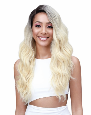 Bobbi Boss Daliss Lace Front Wig Human Hair Blend New 2019