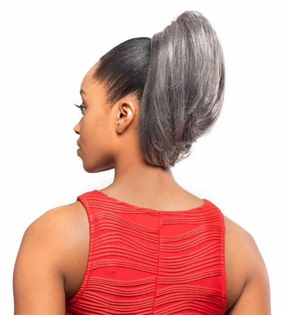 Foxy Silver DS02 Drawstring Ponytail Synthetic