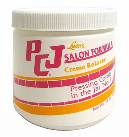 Luster's PCJ Creme Relaxer Pressing Comb in the Jar 15 oz