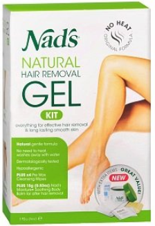 Nads Natural Hair Removal Gel Kit 6 oz 2019