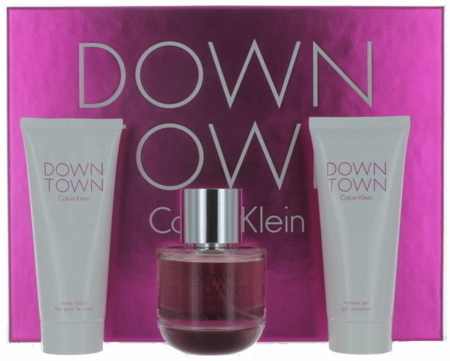 Down Town By Calvin Klein For Women 3 Piece Fragrance Gift Set 2018