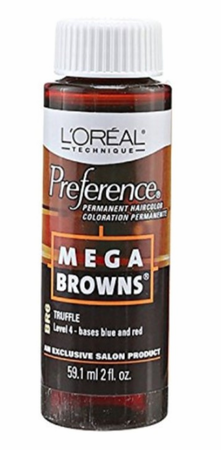 L'Oreal Professional Preference Mega Browns Permanent Hair Color BR6 Truffle