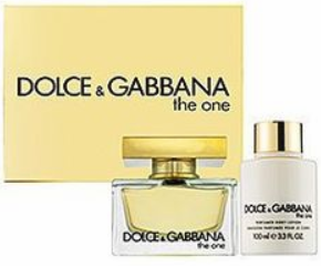The One by Dolce & Gabbana for Women 2 Piece Fragrance Gift Set