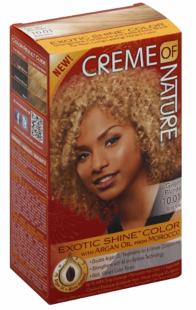 Creme Of Nature Exotic Shine Hair Color 10.01 Ginger Blonde