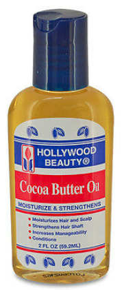 Hollywood Beauty Cocoa Butter Oil 2 oz