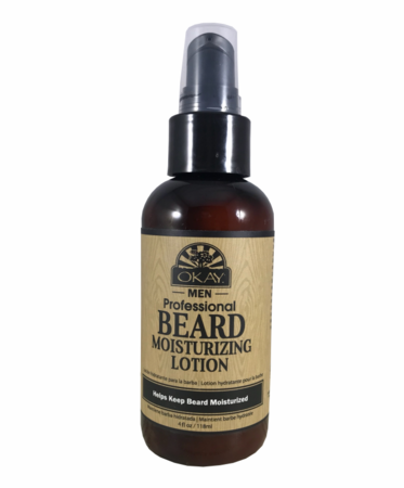 Okay Men Beard Moisturizing Lotion 4oz