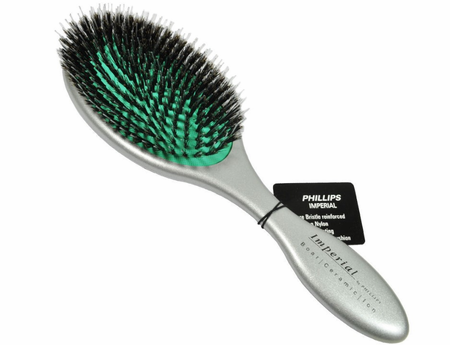 Phillips Imperial Oval Hair Brush Silver