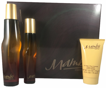 Mambo by Liz Claiborne for Men 3 Piece Fragrance Gift Set 2018