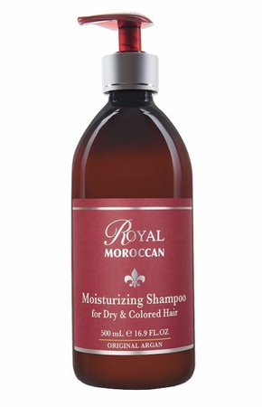Royal Moroccan Argan Oil Moisturizing Shampoo for Dry & Colored Hair 16.9 oz