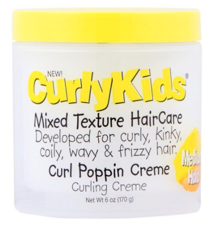 Curly Kids Haircare Curl Poppin Cream 6 oz