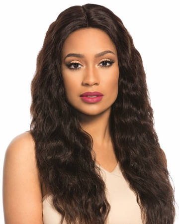 Sensationnel Bare & Natural Loose Wave Swiss Lace Wig Human Hair New 2018