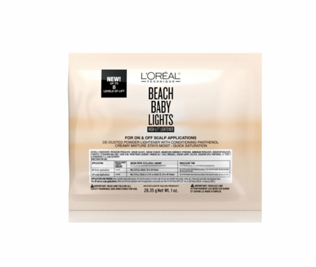 L'Oreal Beach Baby lights high-lift Lightener permanent color pack 1oz