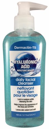 Dermactin-TS Hyaluronic Acid Daily Facial Cleanser 5.7 oz