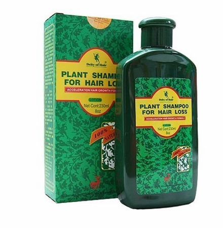 Deity of Hair Plant Shampoo for Hair Loss 8 oz