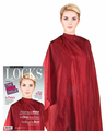 Cricket Forte Haircutting Cape (Red) - Water Resistant