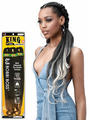 "Bobbi Boss 3X King Tips J Body Wave 28"" Pre Feathered Braid Synthetic"