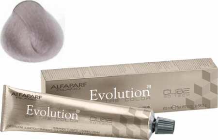 Alfaparf Milano Evolution of the Color Cube 3D Tech Hair Color 11.20 Violet Platinum 2 oz