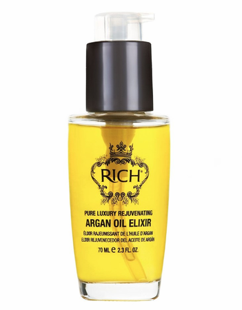 RICH Pure Luxury Rejuvenating Argan Oil Elixir 2.3 oz