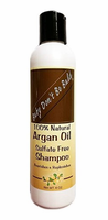 Baby Don't Be Bald 100% Natural Argan Oil Sulfate Free Shampoo 8 oz