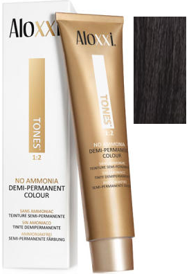 Aloxxi Tones Hair Color 1N Intrigue on the Spanish Steps 2 oz 2019