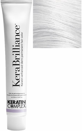 Keratin Complex KeraBrilliance Keratin-Enhanced Demi-Permanent Hair Color Clear 3.4 oz 2019