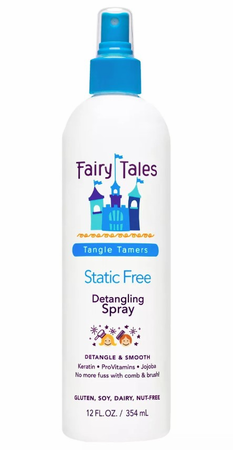 Fairy Tales Static Free Leave-In Detangling Spray 12 oz