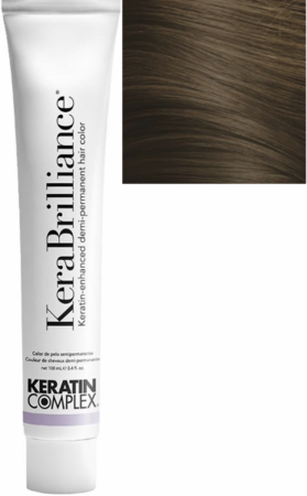 Keratin Complex KeraBrilliance Keratin-Enhanced Demi-Permanent Hair Color 6.7/6GN Dark Matte Blonde 3.4 oz 2019
