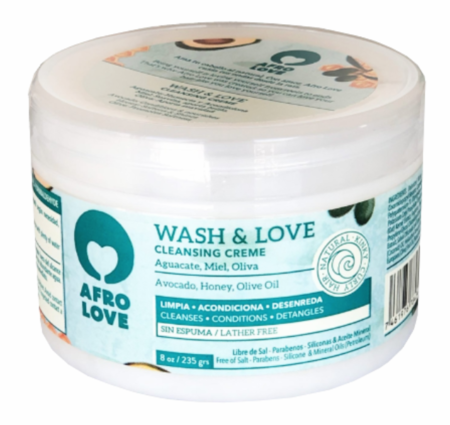 Afro Love Wash & Love Cleansing Creme 8 oz