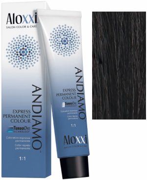 Aloxxi Andiamo Express Permanent Hair Color 2N Haute Cioccolato 2 oz 2019