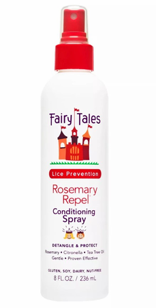 Fairy Tales Rosemary Repel Lice Prevention Conditioning Spray 8 oz