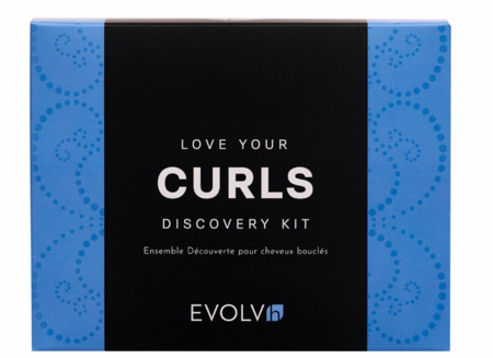 EVOLVh Love Your Curls 4 Piece Discovery Kit