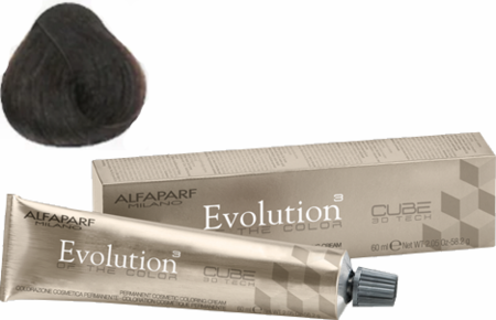 Alfaparf Milano Evolution of the Color Cube 3D Tech Hair Color 6 Dark Natural Blonde 2 oz 2019