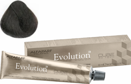 Alfaparf Milano Evolution of the Color Cube 3D Tech Hair Color 7.01 Medium Pure Ash Blonde 2 oz 2019