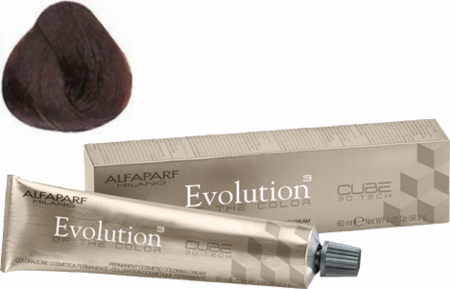 Alfaparf Milano Evolution of the Color Cube 3D Tech Hair Color 7.35 Medium Golden Mahogany Blonde 2 oz