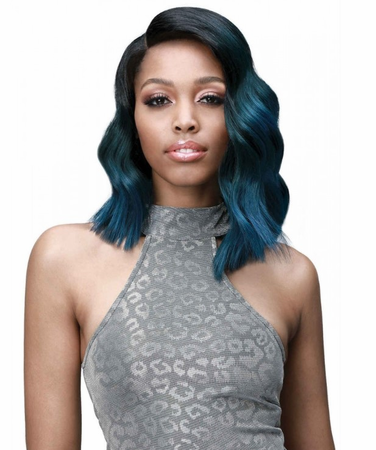 Bobbi Boss Premium Teairra Swiss Lace Front Wig Synthetic New