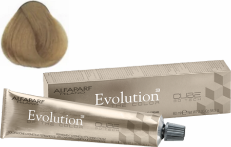 Alfaparf Milano Evolution of the Color Cube 3D Tech Hair Color 9.31 Very Light Golden Ash Blonde 2 oz 2019